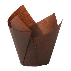 Muffiny Tulipan Duże 50/80 mm