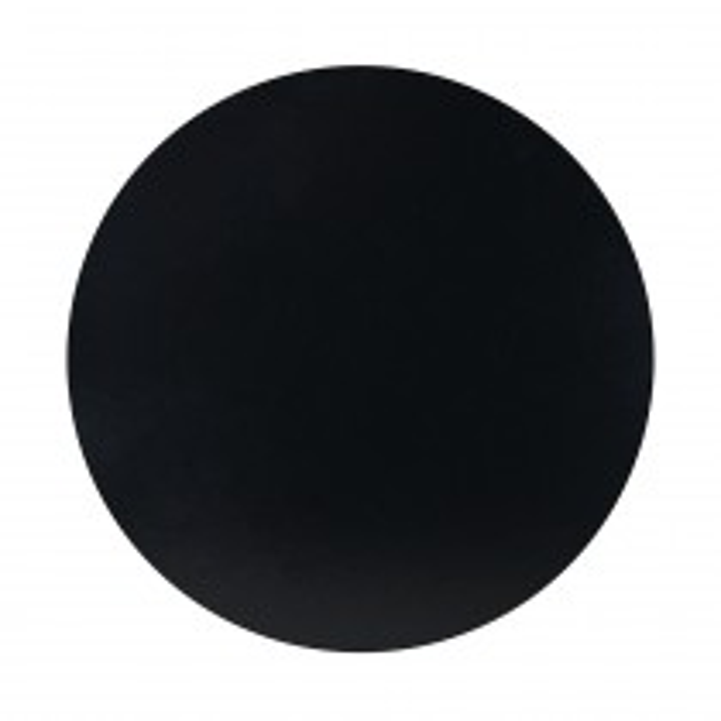 Gruby podkład pod tort gr. 1,0 cm ANG okrągły czarny