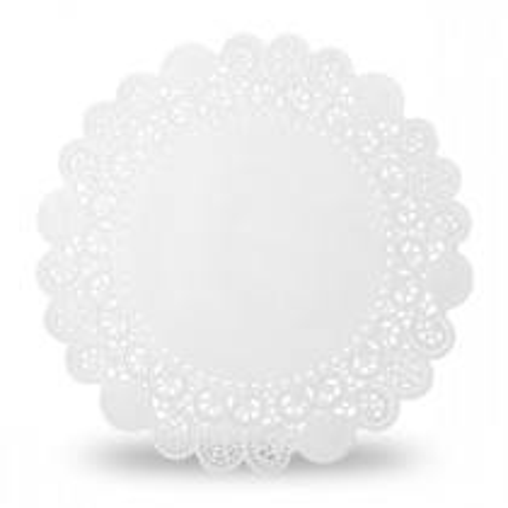 Serwetki Glassine prostokątne białe.