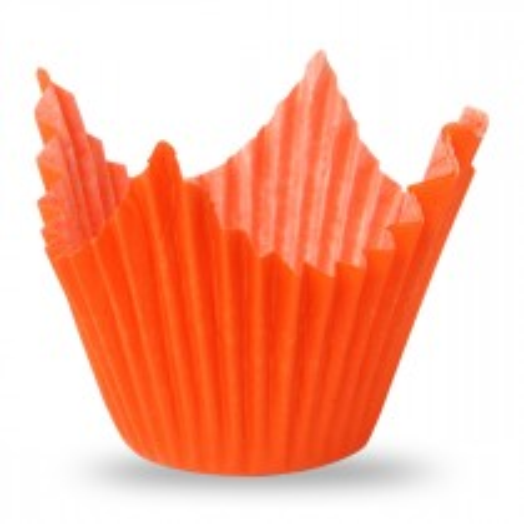Muffiny pomarańczowe do pieczenia 50x70 mm.