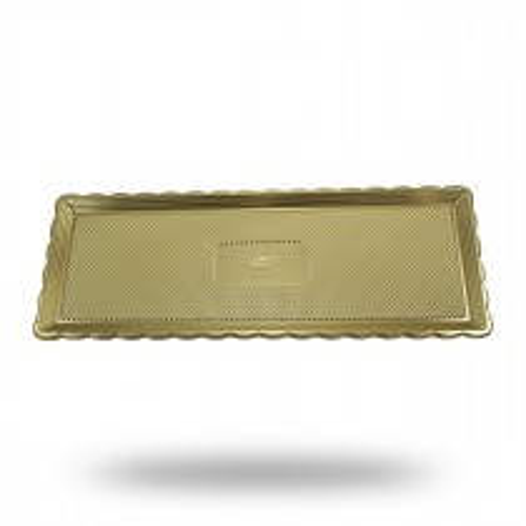 Taca złota prostokątna.