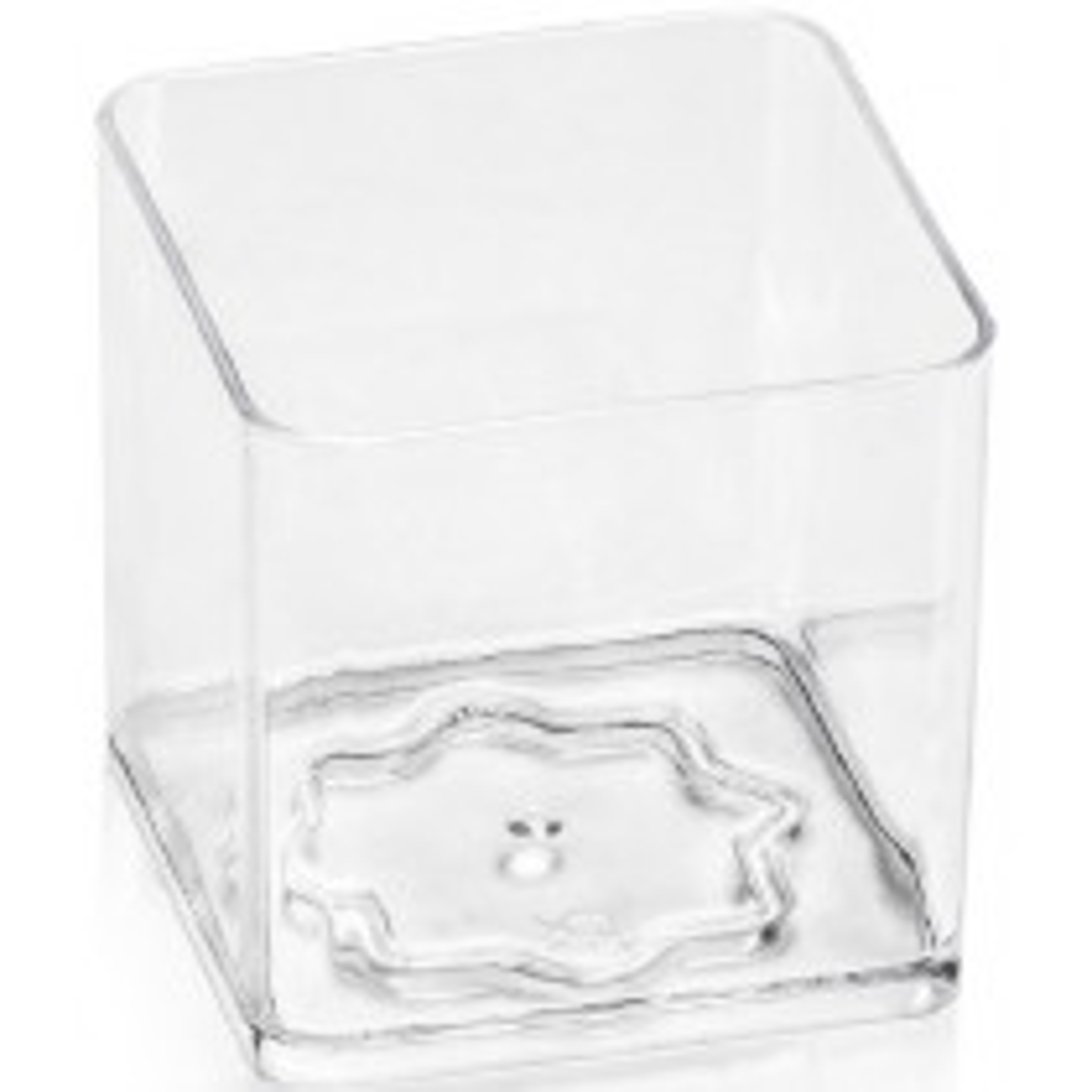 Pucharek CUBE kwadratowy 80 ml
