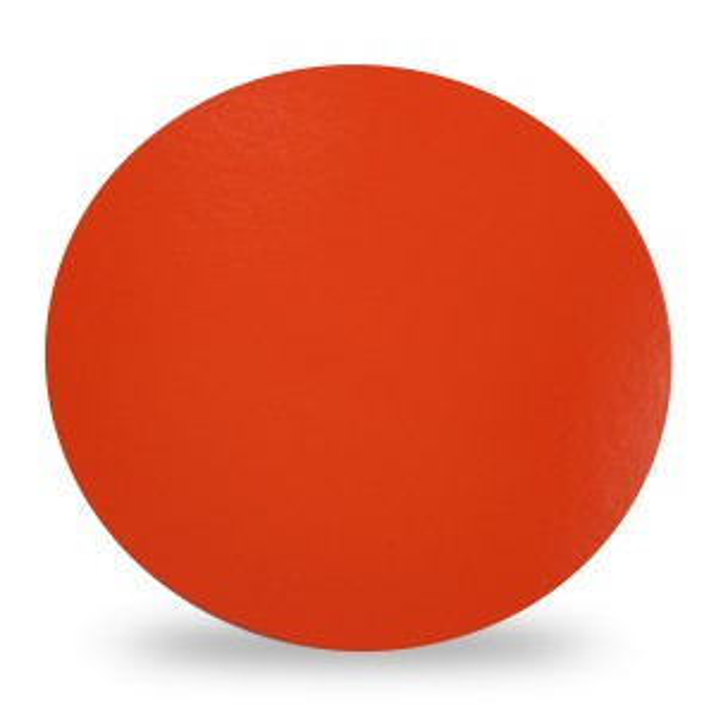 Krążki okrągłe pomarańczowo-czarne