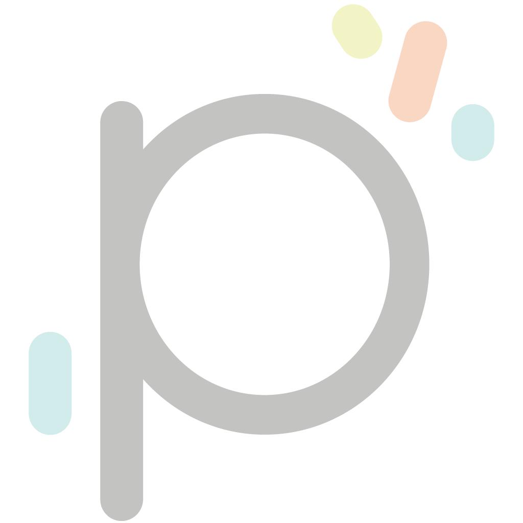 Papilotka kubeczek niebieski polka 50x40 mm