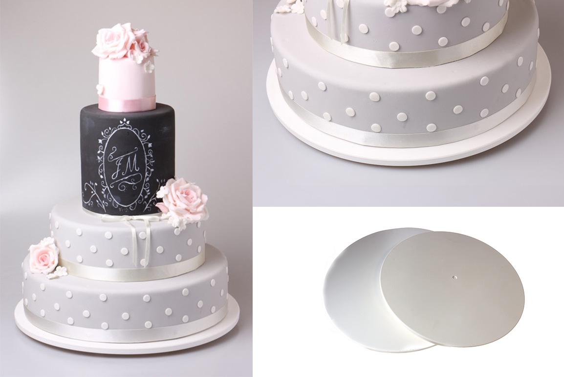 Podkładki pod tort z tworzywa sztucznego
