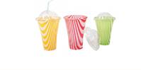 Plastikowe kubki do napojów